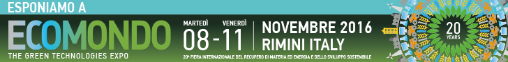 CHIMICA VERDE A ECOMONDO 2016 @ Ecomondo - Rimini Fiera | Rimini | Emilia-Romagna | Italia